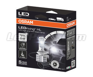 Packaging HB4 9006 LED Bulbs Osram LEDriving HL Gen2 - 9736CW