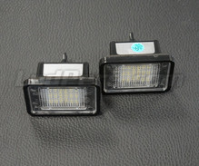 Pack of 2 LEDs modules licence plate MERCEDES (type 6)