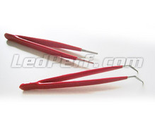 Set of 2 special SMD tweezers