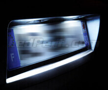 LED Licence plate pack (xenon white) for Nissan Leaf
