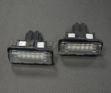 Pack of 2 LEDs modules licence plate MERCEDES (type 2)