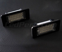 Pack of 2 VW rear LED licence plate modules - Audi Seat Skoda (type 3)