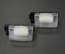 Pack of 2 LEDs modules licence plate for Nissan Pulsar