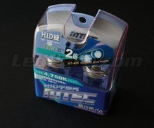 Pack of 2 MTEC Cosmos Blue HB3 bulbs - xenon White