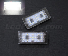 Pack of 2 LEDs modules licence plate for Skoda Fabia 1