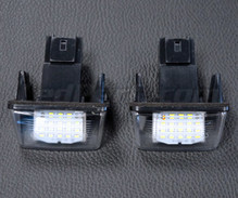 Pack of 2 LEDs modules licence plate for Peugeot 406