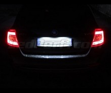 LED Licence plate pack (white 6000K) for Skoda Fabia 3