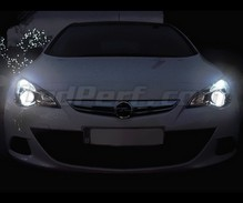 Xenon Effect bulbs pack for Opel Astra J headlights