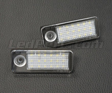 Pack of 2 LEDs modules licence plate VW Audi Seat Skoda (type 6)