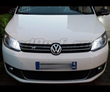 Xenon Effect bulbs pack for Volkswagen Touran V3 headlights and daytime running lights