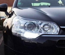 Daytime running light LED pack (xenon white) for Citroen C5 II