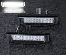 Pack of 2 LEDs modules licence plate for Toyota Avensis MK2