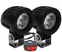 Additional LED headlights for Aprilia Sport City Cube 125 - Long range