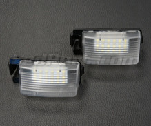 Pack of 2 LEDs modules licence plate NISSAN and INFINITI
