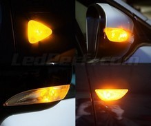 Side direction indicator LED pack for Volvo C70