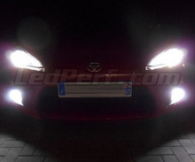 Xenon effect fog light LED pack for Subaru BRZ
