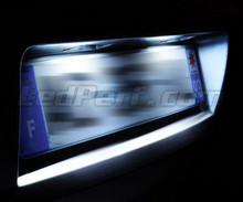 LED Licence plate pack (xenon white) for Opel Meriva B