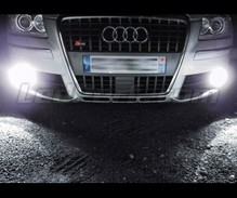 Pack of Xenon effect anti-fog lights for Audi A8 D3