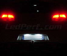 LED Licence plate pack (xenon white) for Citroen C4 Aircross
