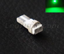 T5 Efficacity bulb with 2 leds TL - green - w1.2w