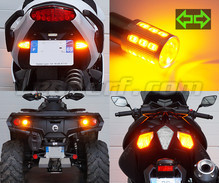 Rear LED Turn Signal pack for Harley-Davidson Super Glide Sport 1450