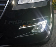 Daytime running light LEDs - (white xenon) - for Peugeot 508 (without original mount xenon)