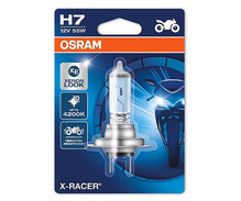 H7 Bulb Osram X-Racer Halogen Xenon Effect for Motorcycle - 55W
