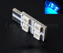 T10 Rotation LED with 4 leds HP - Side lighting - Blue - W5W