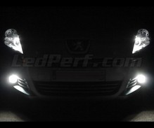 Xenon effect fog light LED pack for Peugeot 5008