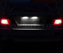 LED Licence plate pack (pure white) for Mitsubishi Lancer Evo 5
