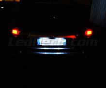 LED Licence plate pack (xenon white) for Peugeot 4007