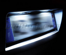 LED Licence plate pack (xenon white) for Seat Mii