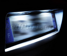 LED Licence plate pack (xenon white) for Volkswagen Up!