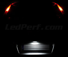 LED Licence plate pack (white 6000K) for Fiat Punto MK2