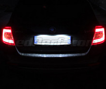 LED Licence plate pack (white 6000K) for Skoda Rapid
