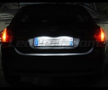 LED Licence plate pack (xenon white) for Toyota Corolla E120