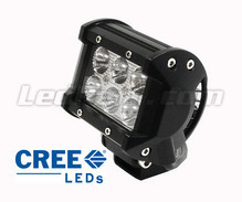 Mini LED Light Bar CREE Double Row 18W 1300 Lumens for Motorcycle and ATV