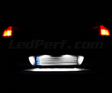 LED Licence plate pack (xenon white) for Peugeot 607
