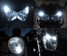 Sidelights LED Pack (xenon white) for Kymco Agility 50 Naked Renouvo