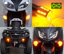 Front LED Turn Signal Pack  for Harley-Davidson Super Glide Sport 1450