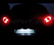 LED Licence plate pack (xenon white) for Opel Corsa D