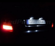 LED Licence plate pack (xenon white) for Skoda Fabia 1