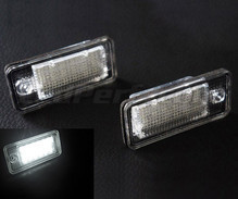 Pack of 2 LEDs modules licence plate for Audi A6 C6