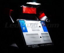 LED Licence plate pack (xenon white) for Vespa GT 250