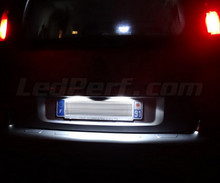 LED Licence plate pack (xenon white) for Citroen C3 Picasso