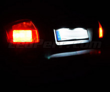 Rear LED Licence plate pack (pure white 6000K) for Audi A4 B6