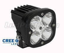Additional LED Light CREE Square 40W for Motorcycle - Scooter - ATV