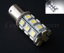 P21W bulb with 24 leds - white - High power - BA15S Base