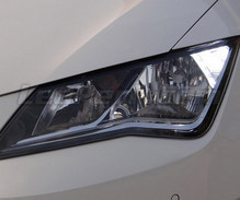 Daytime running light LED pack (xenon white) for Seat Leon 3 (5F)