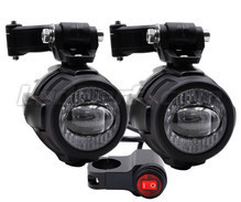 Fog and long-range LED lights for Harley-Davidson Super Glide Sport 1450